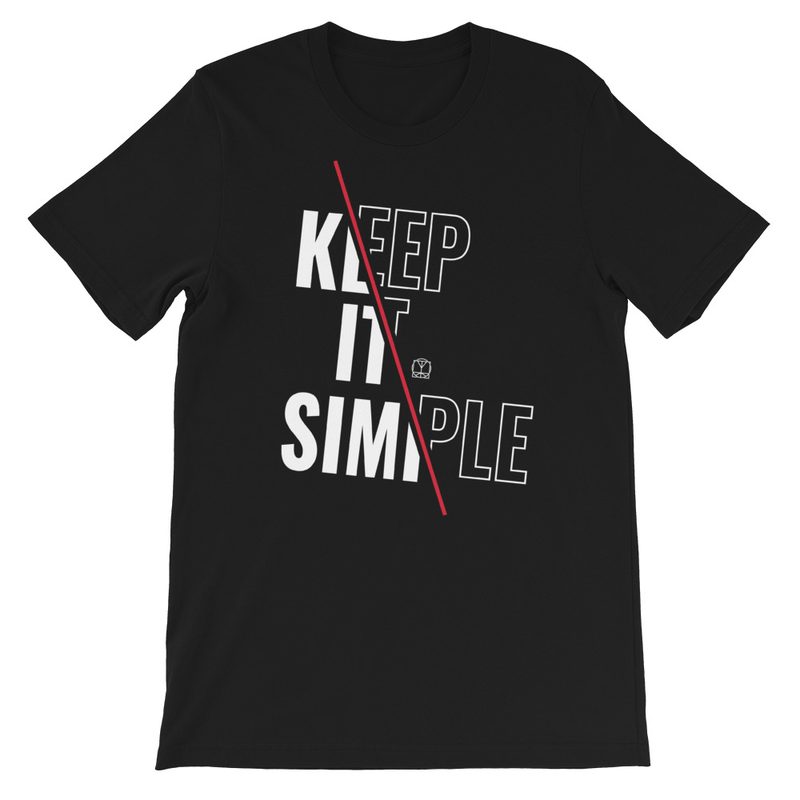 Keep It Simple (Slash) - Unisex T-Shirt image
