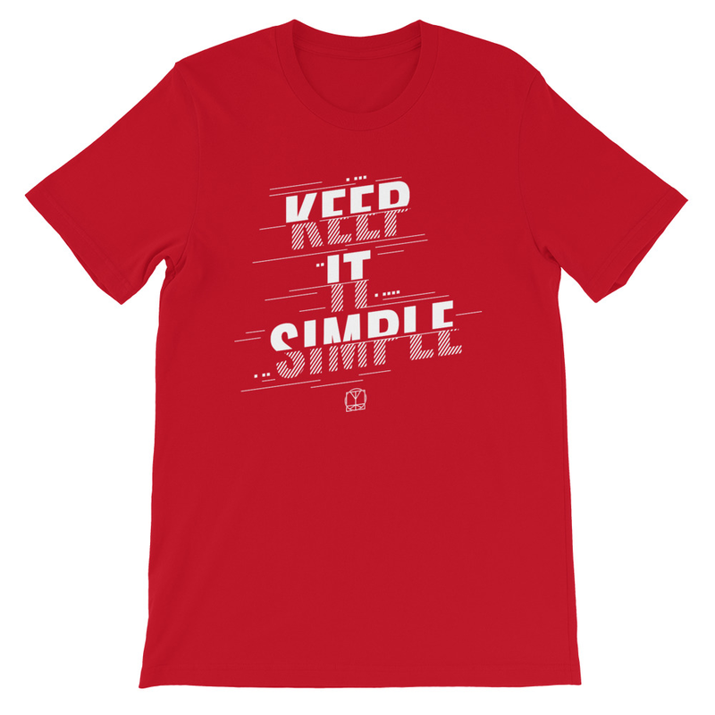 Keep It Simple (Lines) - Unisex T-Shirt image
